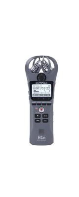 Zoom(ズーム) /  H1n/G グレー  [XYステレオマイク搭載] - ハンディレコーダー -