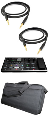 【Beldenシールド2本セット】 LINE6(ラインシックス) / Helix Floor - ギタープロセッサー - 「エフェクタ-バッグプレゼント!」 1大特典セット