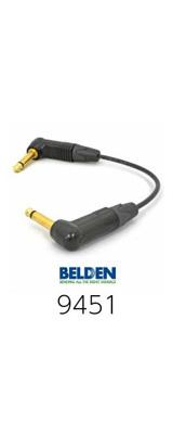 Belden(ベルデン) / 9451 gold - エフェクター用パッチケーブル 25cm -