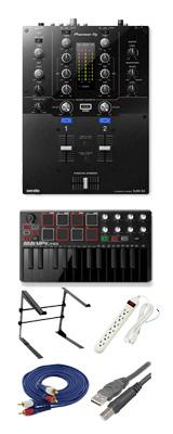 Pioneer (パイオニア) / DJM-S3 & Akai / MPK mini MK2 Blackセット 4大特典セット