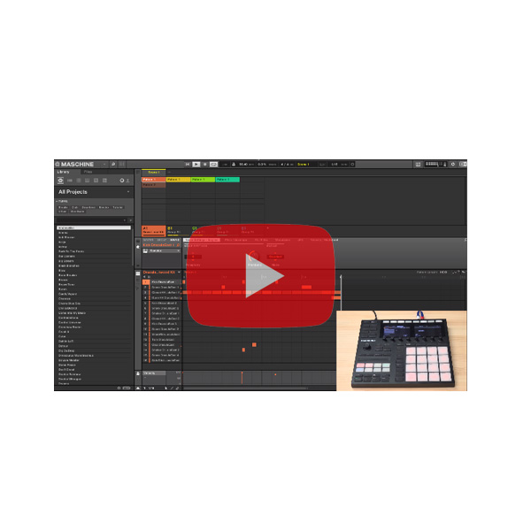 MASCHINE ソフトウェア教則動画【非売品】