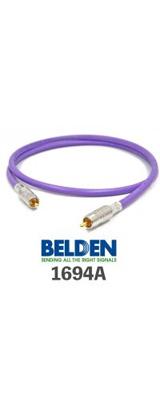 Belden(ベルデン) / 1694A BNC/F端子(前/後プラグ)  - 同軸オーディオ用デジタルケーブル -