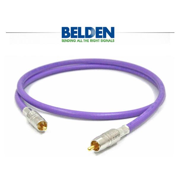 Belden(ベルデン) / 1694A RCA/RCA(前/後プラグ) - 同軸オーディオ用デジタルケーブル -