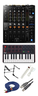 Pioneer (パイオニア) / DJM-750MK2 & Akai / MPK MK2セット 4大特典セット