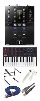 Pioneer (パイオニア) / DJM-S3 & Akai / MPK MK2セット 4大特典セット