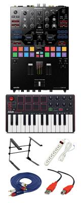 Pioneer (パイオニア) / DJM-S9 & Akai / MPK MK2セット 4大特典セット