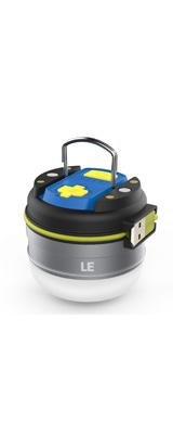 LE(Lighting EVER) / Rechargeable  LED Camping Lights  - USB充電式LEDランタン 3000mAhバッテリー内蔵 調光対応 防水仕様   -