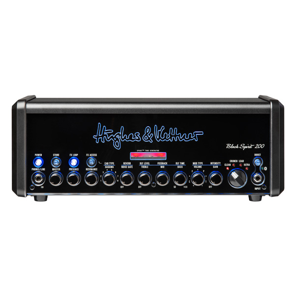 Hughes & Kettner(ヒュース アンド ケトナー) / Black Spirit 200  [HUK-BS200/H] - ギター アンプ ヘッド Bluetooth対応 - 1大特典セット