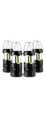 【4個セット】LE(Lighting EVER) / LED Battery Powered Camping Lanterns 4unit -  LEDバッテリー駆動 キャンプ用ランタン/防水仕様 -