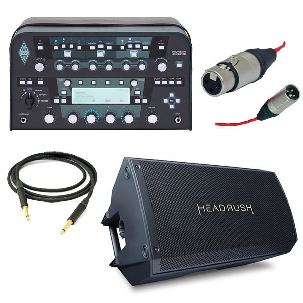 【オススメキャビネットセット】 KEMPER(ケンパー) / Profiler Power Head / FRFR-112 - 2000W出力 プロファイリング パワーアンプ ヘッド - 【フレンズ厳選Rig音源USB&OAタッププレゼント!】