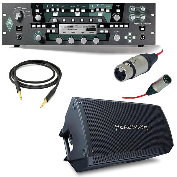 【オススメキャビネットセット】 KEMPER(ケンパー) / PROFILER POWER RACK / FRFR-112 - 2000W出力 プロファイリング パワーアンプ ヘッド - 【フレンズ厳選Rig音源USB&OAタッププレゼント!】