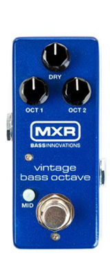MXR / M280 Vin Bass Octave - オクターバー - 《ベースエフェクター》 【パッチケーブルプレゼント!】 1大特典セット