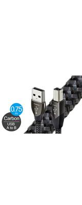 AudioQuest(オーディオクエスト) / USB 2.0 CARBON (0.75m / Type-A to Type-B) オーディオグレードUSBケーブル