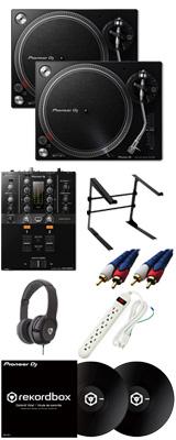 ■金利手数料20回まで無料■ Pioneer /PLX-500-K & DJM-250MK2 【rekordbox dj & rekordbox dvs無償】 DVSスタートセット 11大特典セット