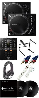 ■金利手数料20回まで無料■ Pioneer /PLX-500-K & DJM-250MK2 【rekordbox dj & rekordbox dvs無償】 DVSスタートセット 10大特典セット