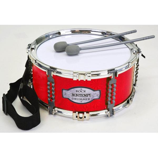 Bontempi(ボンテンピ) / ショルダーストラップ付マーチングドラム (50 3020) - 子供用楽器 - 【正規輸入品】