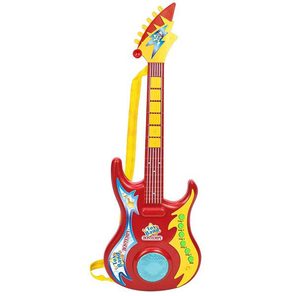 Bontempi(ボンテンピ) / ショルダーストラップ付き 電子ギター (24 6909) - 子供用楽器 - 【正規輸入品】