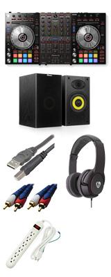 Pioneer(パイオニア) / DDJ-SX3 【Serato DJ Pro対応 Serato Flip+P'NT同梱】 激安ハイアマBセット 15大特典セット
