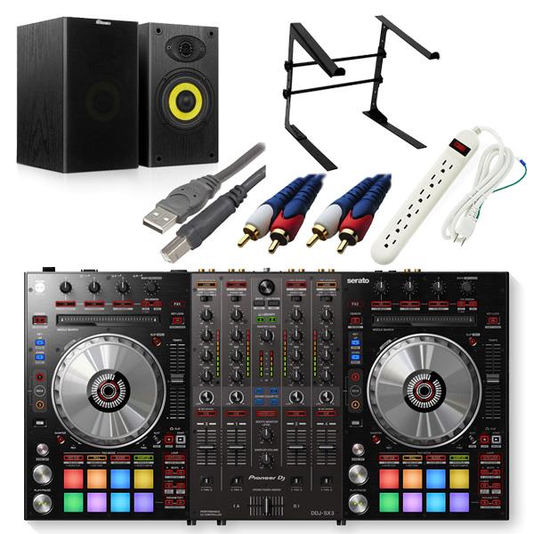 Pioneer(パイオニア) / DDJ-SX3 激安ハイアマオススメBセット 【Serato DJ Pro対応 Serato Flip+P'NT同梱】