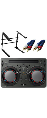Pioneer DJ(パイオニア) / DDJ-WeGO4-K (ブラック) 【rekordbox dj / Virtual DJ LE無償 】 激安定番オススメAセット 8大特典セット