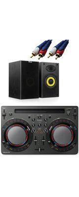 Pioneer DJ(パイオニア) / DDJ-WeGO4-K (ブラック) 【rekordbox dj / Virtual DJ LE無償 】 激安定番オススメBセット 8大特典セット