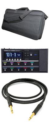 【撥水エフェクターバッグ&Beldenシールドセット】 Boss(ボス) / GT-1000 Guitar Effects Processor - ギタープロセッサー マルチエフェクター - 1大特典セット