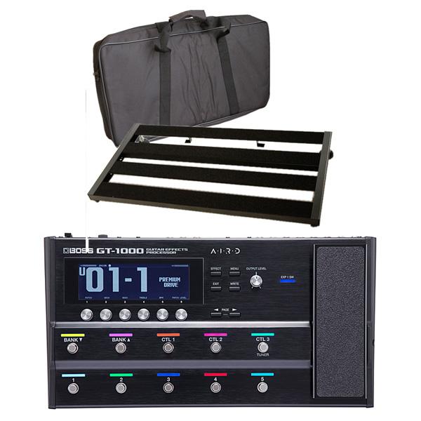 【エフェクターボードセット】 Boss(ボス) / GT-1000 Guitar Effects Processor - ギタープロセッサー マルチエフェクター -