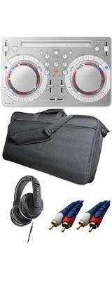 Pioneer DJ(パイオニア) / DDJ-WeGO4-W 【rekordbox dj / Virtual DJ LE無償】 ソフトケースお得セット 14大特典セット
