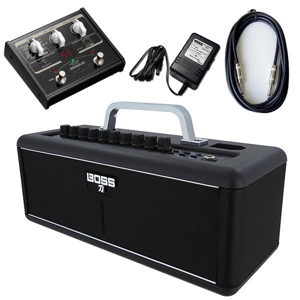 【VOX SL1Gマルチエフェクターセット】 Boss(ボス) / KATANA-AIR / StompLab SL1G「純正ACアダプター(KA-181)付」 - 完全ワイヤレス ギター アンプ -