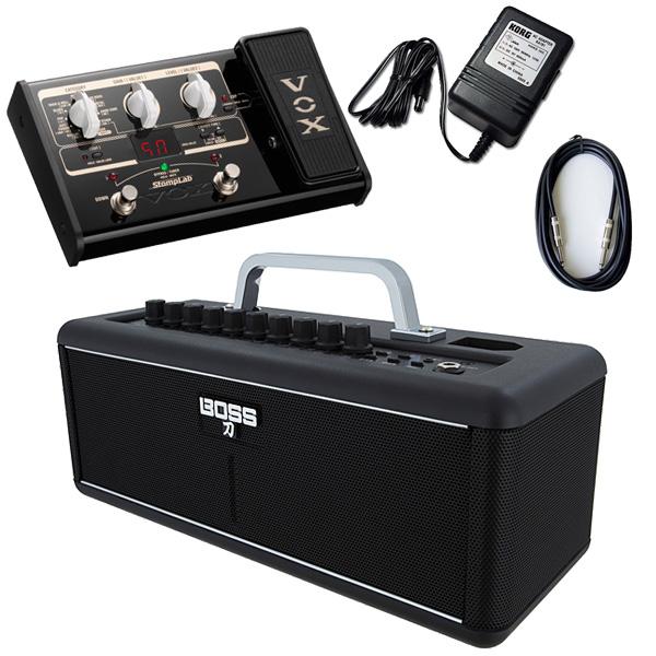 【VOX SL2Gマルチエフェクターセット】 Boss(ボス) / KATANA-AIR  / StompLab SL2G「純正ACアダプター(KA-181)付」 - 完全ワイヤレス ギター アンプ -