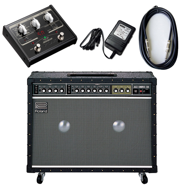【VOX SL1Gマルチエフェクターセット】 Roland(ローランド) / JAZZ CHORUS JC-120 / StompLab SL1G「純正ACアダプター(KA-181)付」 - 120W ギター アンプ -
