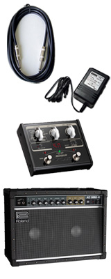 【VOX SL1Gマルチエフェクターセット】 Roland(ローランド) / JAZZ CHORUS JC-40 / StompLab SL1G「純正ACアダプター(KA-181)付」 - 40W ギター アンプ - 3大特典セット