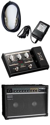 【VOX SL2Gマルチエフェクターセット】 Roland(ローランド) / JAZZ CHORUS JC-40 / StompLab SL2G「純正ACアダプター(KA-181)付」 - 40W ギター アンプ - 3大特典セット