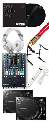 ■金利手数料20回まで無料■ Pioneer / PLX-1000 & RANE / SEVENTY-TWO 【Serato DJ Pro+P'NT DJ無償】 DVSセット 11大特典セット