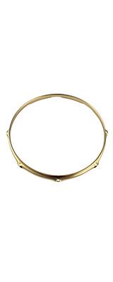 """TAMA(タマ) / MSP14-8 [14"""" Customized Brass Mighty Hoop] 14インチ 8ホール バターサイド フランジフープ - スネア用ブラスフープ -"""