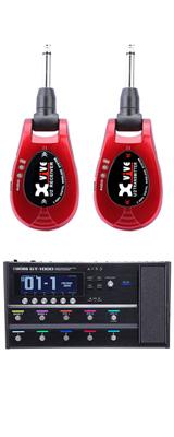 【ワイヤレスセット(限定カラー:レッド)】 Boss(ボス) / GT-1000 Guitar Effects Processor / XV-U2 Digital Wireless - ギタープロセッサー マルチエフェクター デジタルワイヤレス ・システム - -