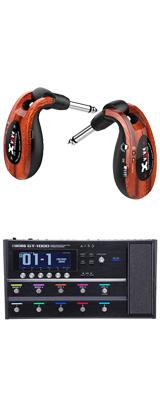 【ワイヤレスセット(限定カラー:ウッド)】 Boss(ボス) / GT-1000 Guitar Effects Processor / XV-U2 Digital Wireless - ギタープロセッサー マルチエフェクター デジタルワイヤレス ・システム - -