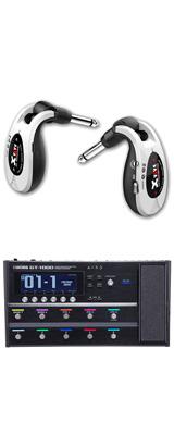 【ワイヤレスセット(限定カラー:ホワイト)】 Boss(ボス) / GT-1000 Guitar Effects Processor / XV-U2 Digital Wireless - ギタープロセッサー マルチエフェクター デジタルワイヤレス ・システム - -