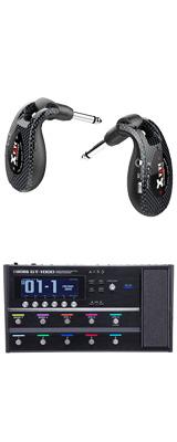 【ワイヤレスセット(限定カラー:カーボン)】 Boss(ボス) / GT-1000 Guitar Effects Processor / XV-U2 Digital Wireless - ギタープロセッサー マルチエフェクター デジタルワイヤレス ・システム - -