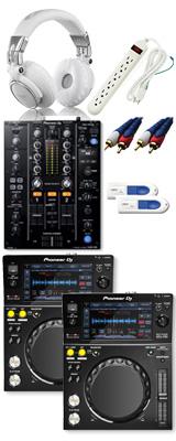 ■金利手数料20回まで無料■ Pioneer(パイオニア) / XDJ-700 & DJM-450セット 12大特典セット