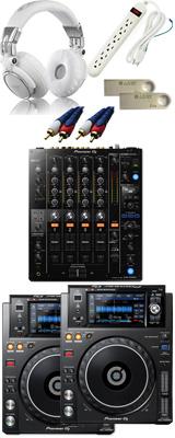 ■金利手数料20回まで無料■ Pioneer(パイオニア) / XDJ-1000MK2 & DJM-750MK2セット 12大特典セット