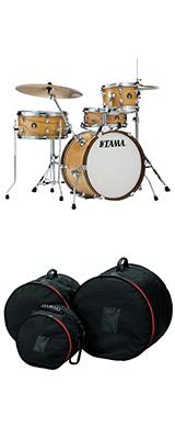 TAMA(タマ) / CLUB-JAM KIT クラブジャムキット専用バッグセット [LJL48S-SBO+ DSS48LJ] COMPACT VINTAGE KIT - コンパクトドラムセット -