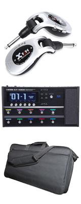 ■金利手数料20回まで無料■ 【ワイヤレスセット(シルバー)】 Boss(ボス) / GT-1000 Guitar Effects Processor / XV-U2 Digital Wireless - ギタープロセッサー マルチエフェクター デジタルワイヤレス ・システム - - 1大特典セット