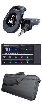 ■金利手数料20回まで無料■ 【ワイヤレスセット(ブラック)】 Boss(ボス) / GT-1000 Guitar Effects Processor / XV-U2 Digital Wireless - ギタープロセッサー マルチエフェクター デジタルワイヤレス ・システム - - 1大特典セット