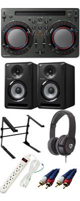Pioneer(パイオニア) / DDJ-WeGO4-K 【rekordbox dj / Virtual DJ LE無償】 S-DJ50X 激安定番Cセット 15大特典セット