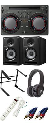 Pioneer(パイオニア) / DDJ-WeGO4-K 【rekordbox dj / Virtual DJ LE無償】 S-DJ80X 激安定番Cセット 15大特典セット