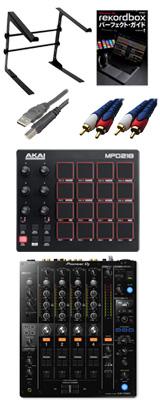 Pioneer(パイオニア) / DJM-750MK2 & AKAI(アカイ) / MPD218セット 【8月以降入荷】 4大特典セット