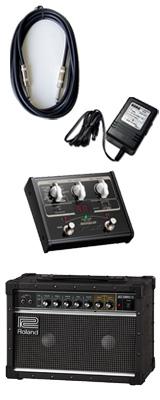 【VOX SL1Gマルチエフェクターセット】 Roland(ローランド) / JAZZ CHORUS JC-22 / StompLab SL1G「純正ACアダプター(KA-181)付」 - 30W ギター アンプ - 3大特典セット