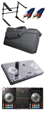 Pioneer DJ(パイオニア) / DDJ-SX3 【Serato DJ Pro対応 Serato Flip+P'NT同梱】 デッキセーバー&撥水ケース激安ハイアマオススメセット 8大特典セット