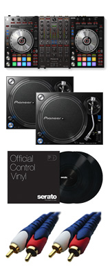Pioneer DJ(パイオニア) / DDJ-SX3 【Serato DJ Pro対応 Serato Flip+P'NT DJ同梱】 PLX-1000 DVSセット 8大特典セット